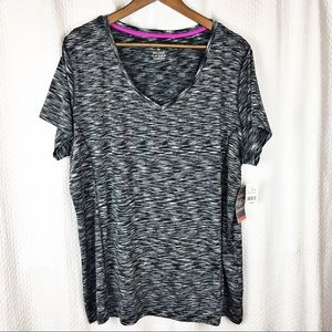 New York Laundry Sport Athletic Top NWT 3X